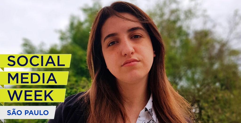 Stephanie Espindola, do Conteúdo Digital, é palestrante confirmada no Social Media Week SP 2018