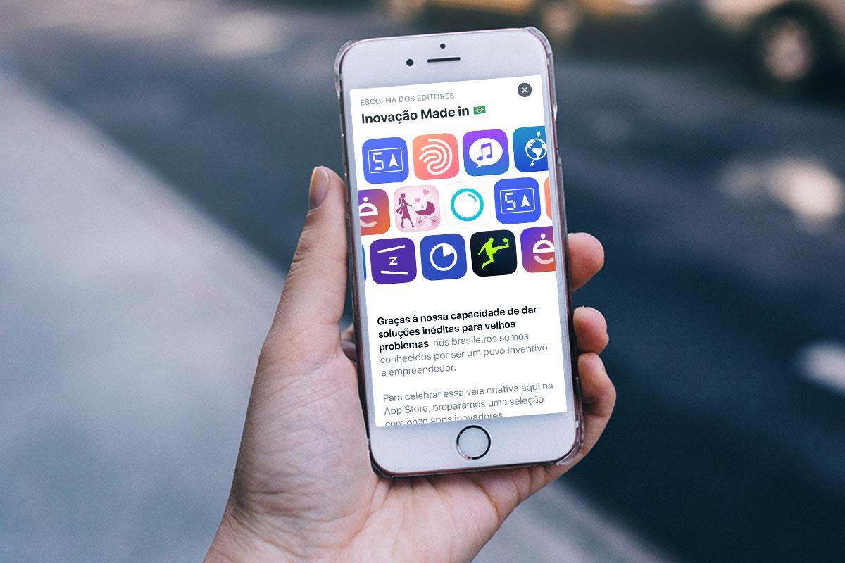 Um dos possíveis resultados com o trabalho de ASO é ser escolhido pela curadoria da App Store para ser destaque em alguma seção, entre elas App do Dia, Jogo do Dia e Escolhas dos Editores