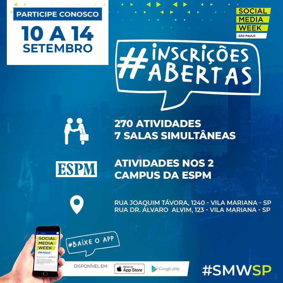 Stephanie Espindola será uma das palestrantes do Social Media Week SP 2018