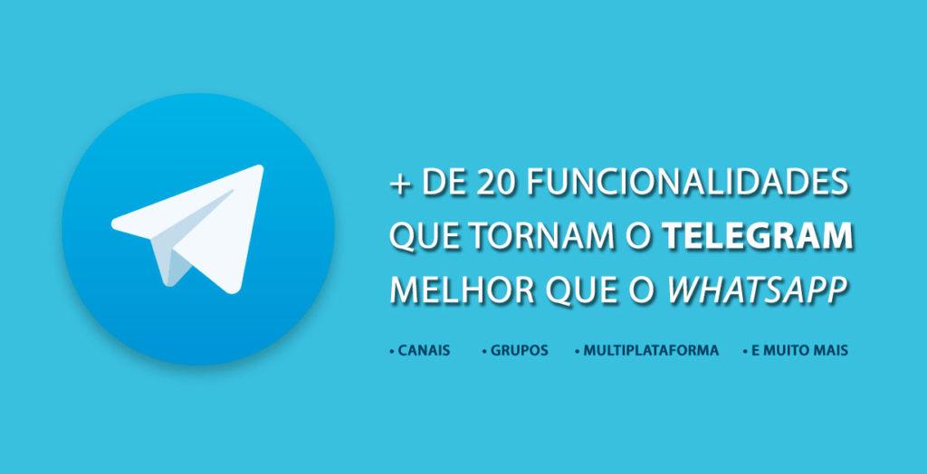 O Telegram é um mensageiro seguro com uma série de funcionalidades úteis para melhorar sua organização pessoal e aperfeiçoar suas estratégias de marketing