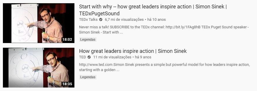 Simon Sinek se popularizou no mundo graças à sua palestra no TEDx Talks